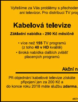 Kabelová televize