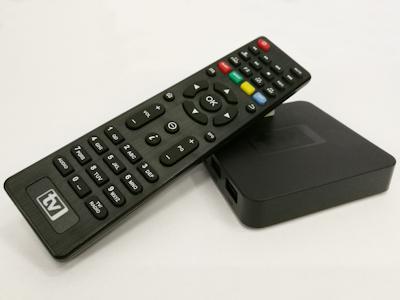 Multimediální box pro online televizi